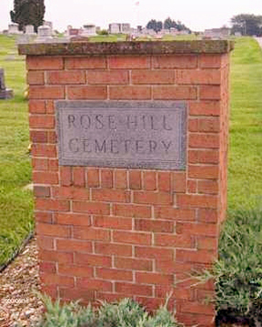 Rose Hill Cemetery (Mechanicsville, IA)
